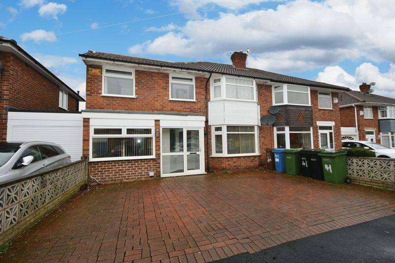 5 Bedrooms Semi Detached House for sale in Westwood Road, Heald Green, Cheadle