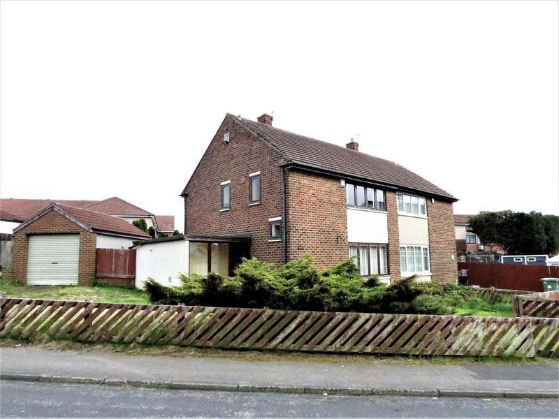 3 Bedrooms Semi Detached House for sale in Amersham Crescent, Peterlee, County Durham, SR8 5JJ