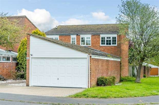 4 Bedrooms Detached House for sale in Hollinwell Close, Bletchley, Milton Keynes, Buckinghamshire