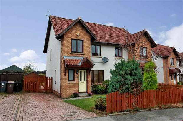 3 Bedrooms Semi Detached House for sale in Concraig Gardens, Kingswells, Aberdeen
