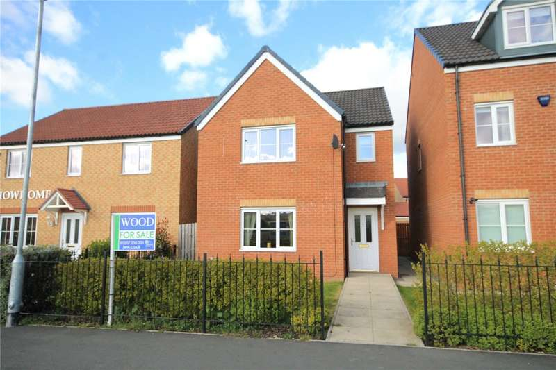3 Bedrooms Detached House for sale in Kielder Drive, The Middles, Stanley, DH9