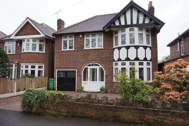 4 Bedrooms Detached House for sale in Wollaton Road, Wollaton, Nottingham, NG8