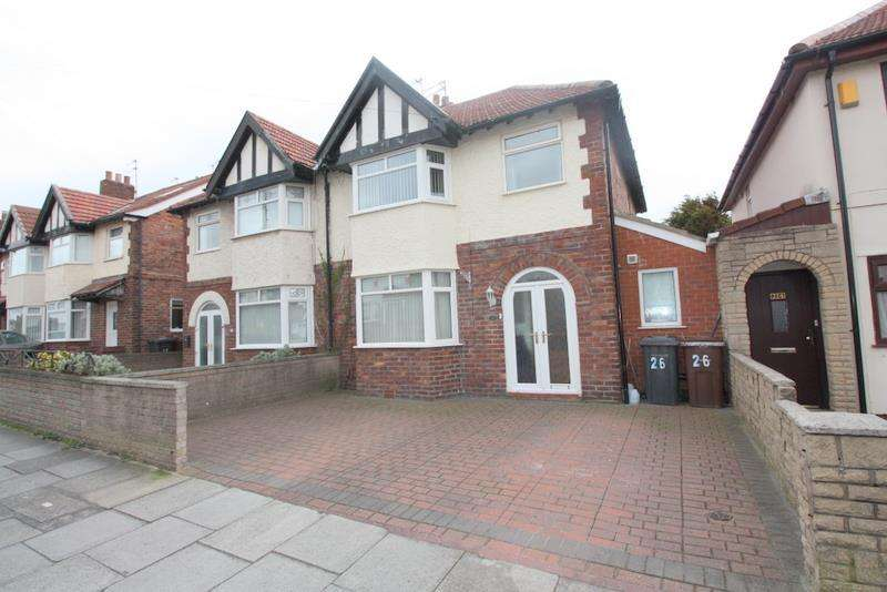 3 Bedrooms Semi Detached House for sale in Heathfield Road, Brighton-Le-Sands