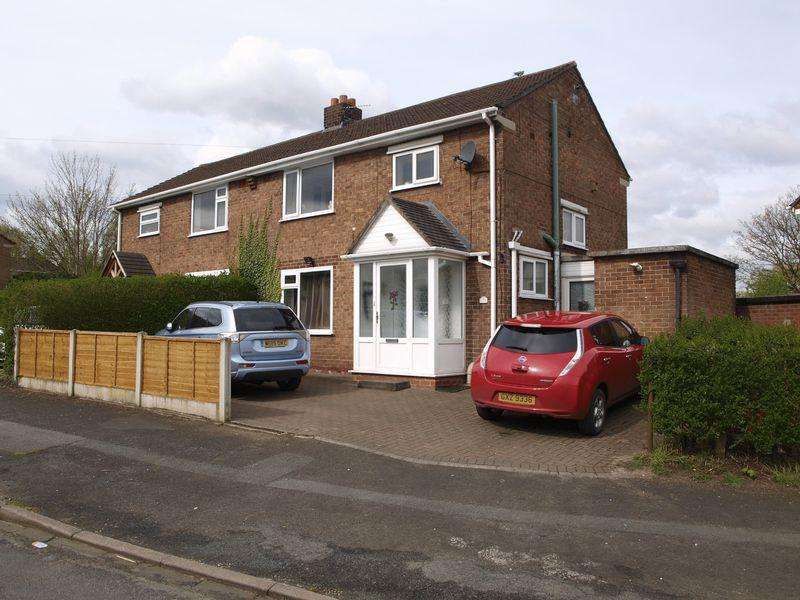 3 Bedrooms Semi Detached House for sale in Farm Road, Weaverham, CW8 3PQ