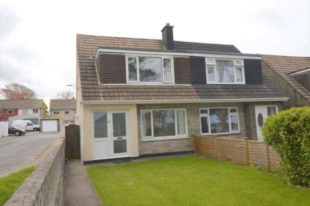 3 Bedrooms Semi Detached House for sale in Aneray Road, Camborne, Cornwall