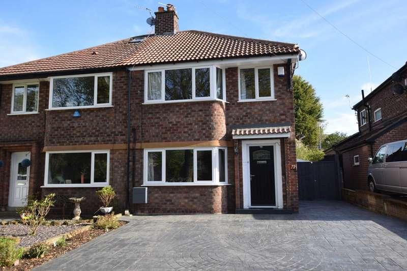 3 Bedrooms Semi Detached House for sale in Egerton Park, Rock Ferry