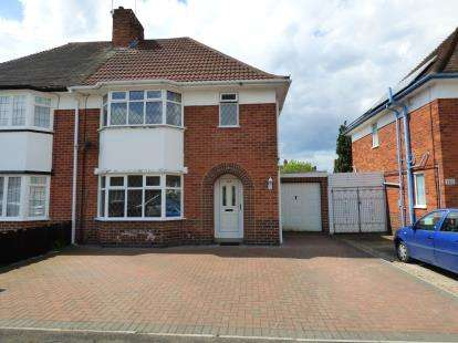 3 Bedrooms Semi Detached House for sale in Sycamore Road, Birstall, Leicester, Leicestershire
