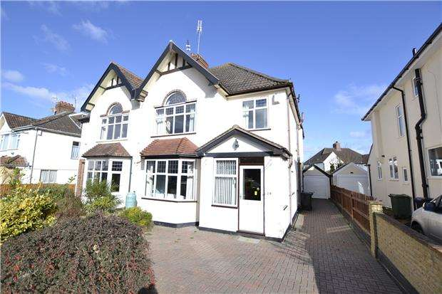 4 Bedrooms Semi Detached House for sale in Rockside Drive, BRISTOL, BS9 4NU