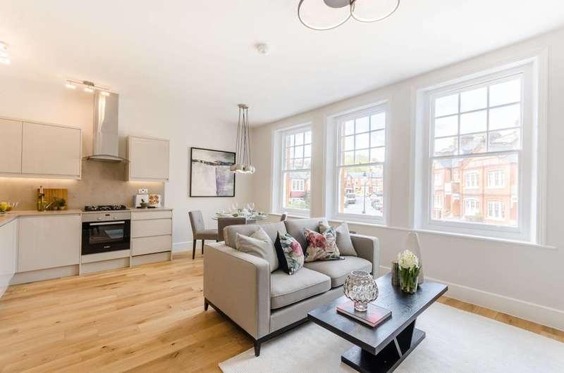 3 Bedrooms Flat for sale in Milton Park, Harringay, N6