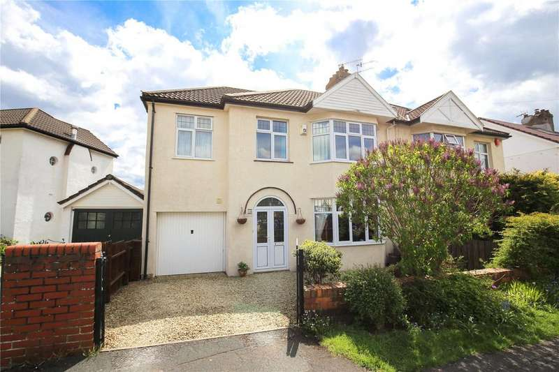 5 Bedrooms Semi Detached House for sale in Abbey Road, Westbury-On-Trym, Bristol, BS9