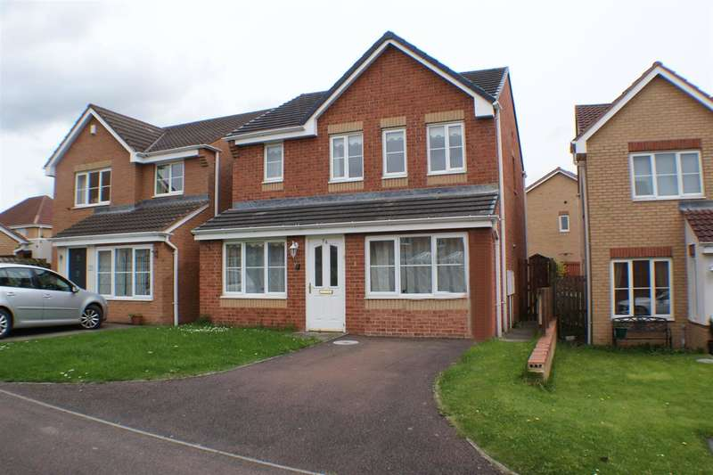 3 Bedrooms Semi Detached House for sale in Holwick Close, Consett