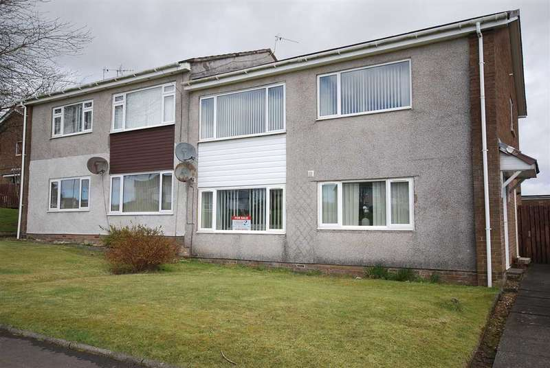 2 Bedrooms Flat for sale in Dalmahoy Way, Kilwinning