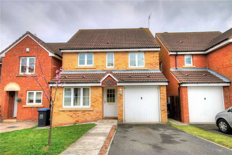 3 Bedrooms Detached House for sale in Rosecroft, Newfield, Chester le Street, DH2