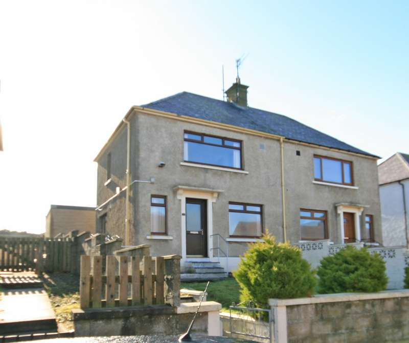 2 Bedrooms Semi Detached House for sale in Morven Crescent, Findochty, Buckie, AB56