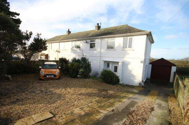 3 Bedrooms Semi Detached House for sale in Tintagel