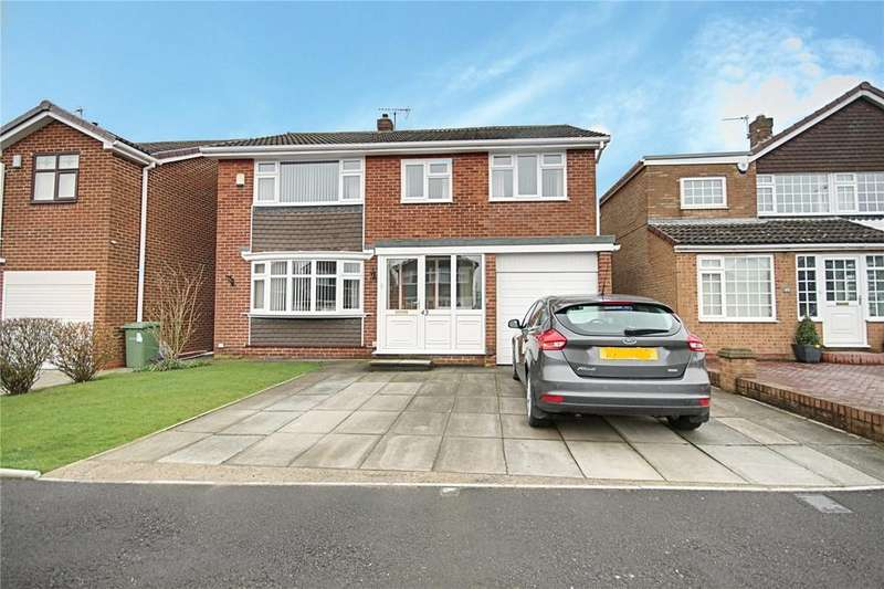 4 Bedrooms Detached House for sale in Greenfield Drive, Eaglescliffe