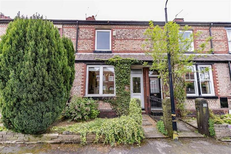 2 Bedrooms Terraced House for sale in Hall Avenue, Sale