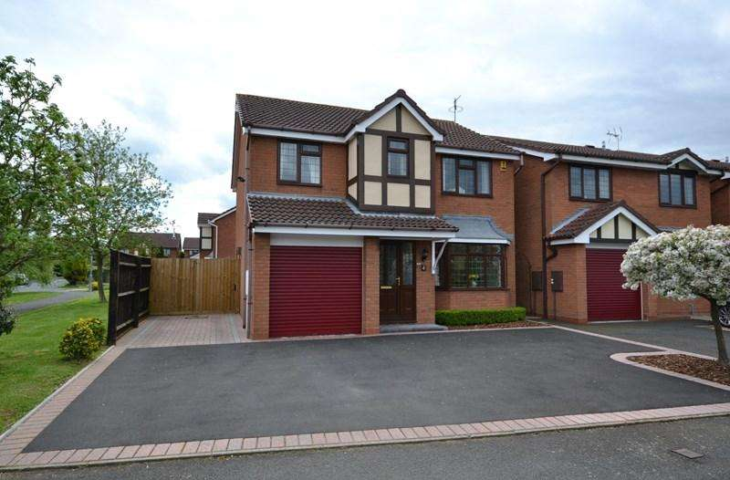 4 Bedrooms Detached House for sale in Mayflower Close, Stourport-On-Severn