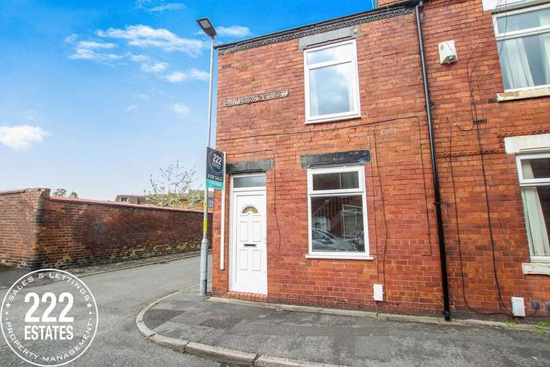 2 Bedrooms End Of Terrace House for sale in Cartwright Street, Warrington, WA5