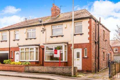 3 Bedrooms Semi Detached House for sale in St. Marks Street, Bredbury, Stockport, Cheshire