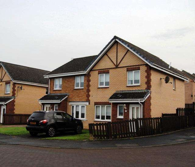 3 Bedrooms Semi Detached House for sale in Horatius Street, Motherwell ML1