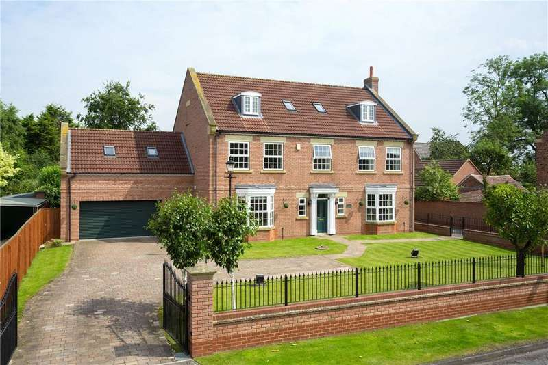 5 Bedrooms Detached House for sale in The Village, Earswick, York, YO32