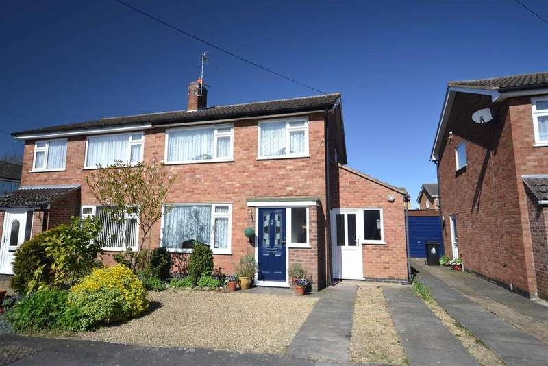 3 Bedrooms Semi Detached House for sale in Rockingham Road, Stamford