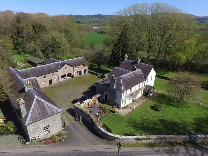5 Bedrooms Detached House for sale in Glasbury-On-Wye, Herefordshire