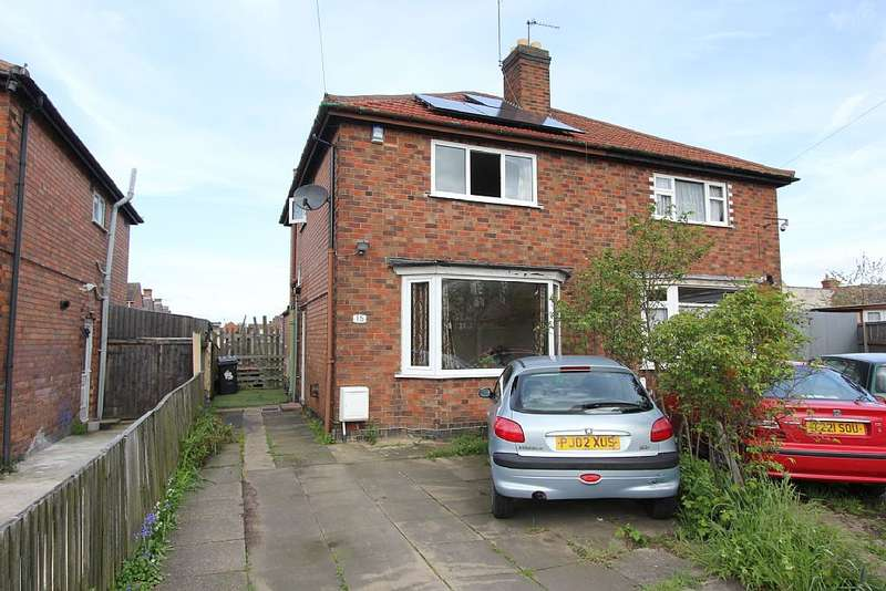 2 Bedrooms Semi Detached House for sale in Beverley Avenue, Leicester, Leicestershire, LE4 6JB