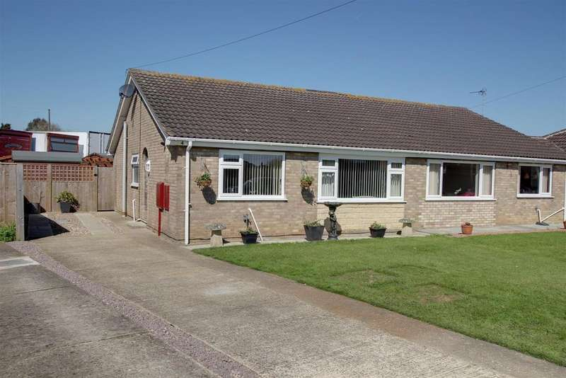 2 Bedrooms Semi Detached Bungalow for sale in Mayflower Way, Mablethorpe