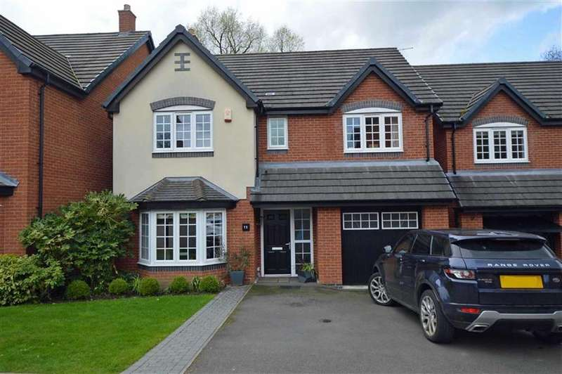 4 Bedrooms Detached House for sale in Goulton Crescent, Desford
