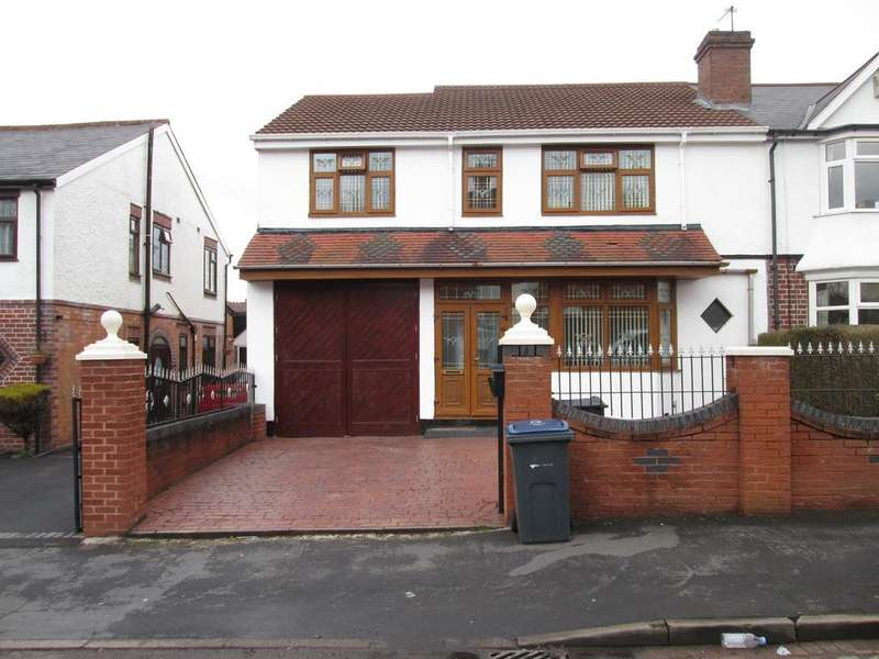 6 Bedrooms Semi Detached House for sale in Woodlands Road, Sparkhill B11 4ES