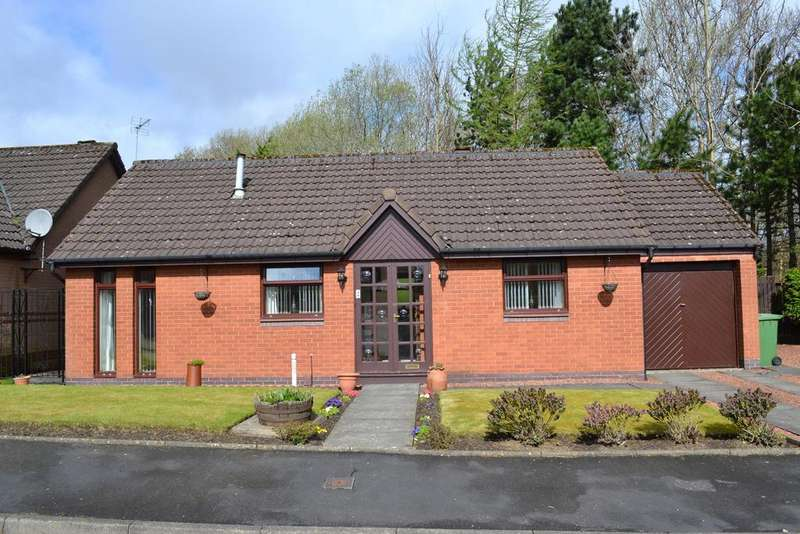 2 Bedrooms Detached Bungalow for sale in 2 Mayberry Gardens, GLASGOW, G32 0EW