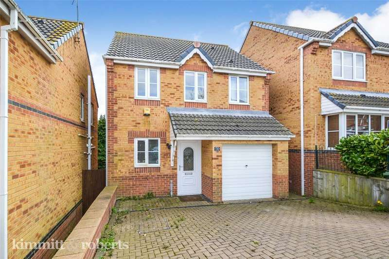 3 Bedrooms Detached House for sale in Holm Hill Gardens, Easington Colliery, Co. Durham, SR8
