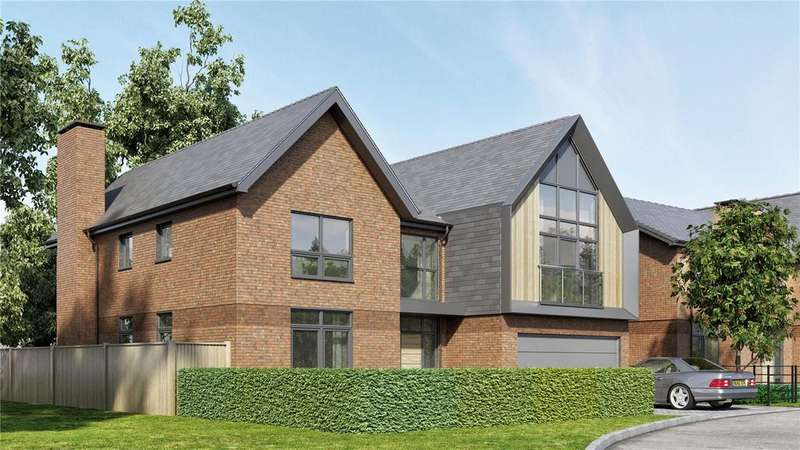 5 Bedrooms Detached House for sale in The Trent, Upper Longcross, KT16