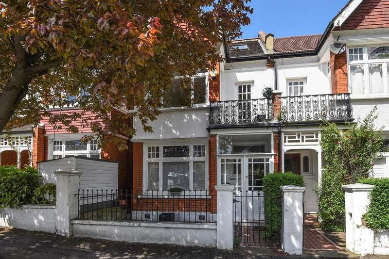4 Bedrooms Terraced House for sale in Ryfold Road, Wimbledon Park