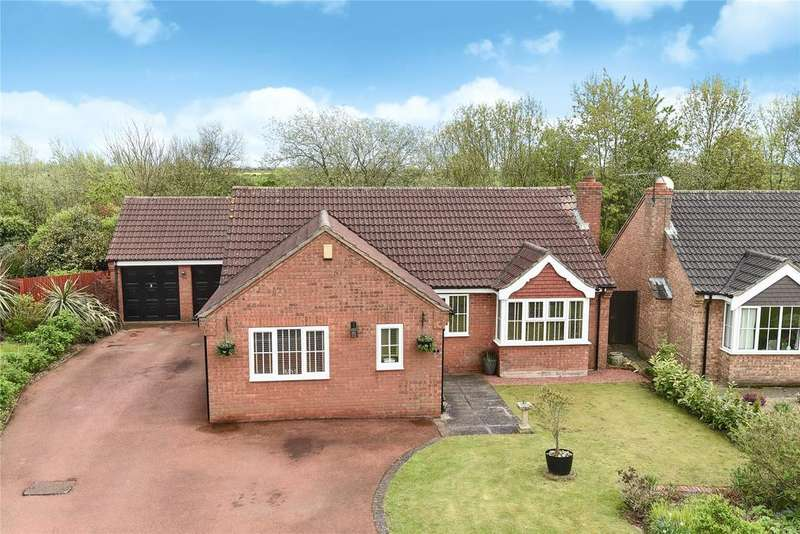 3 Bedrooms Detached Bungalow for sale in Monckton Way, Dunholme, LN2