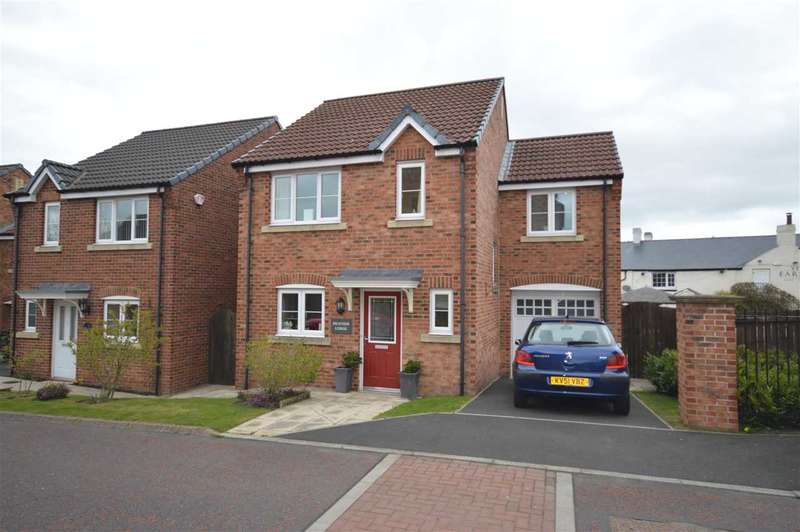 3 Bedrooms Detached House for sale in Heather Lodge, 11 Oaklands, Stanley