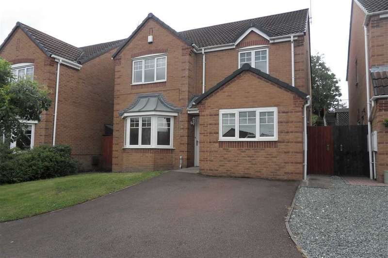 4 Bedrooms Detached House for sale in Sapphire Drive, Denby