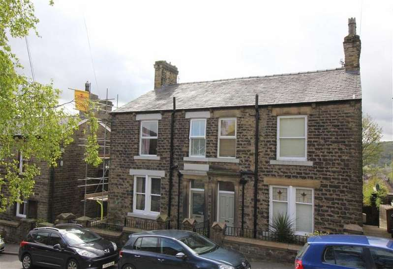 3 Bedrooms Semi Detached House for sale in Hall Street, New Mills, High Peak, Derbyshire
