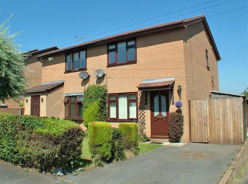 2 Bedrooms Semi Detached House for sale in Machynlleth Way, Connahs Quay
