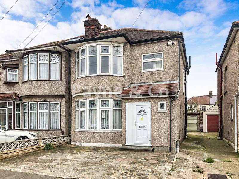 3 Bedrooms Semi Detached House for sale in Danehurst Gardens, REDBRIDGE, IG4