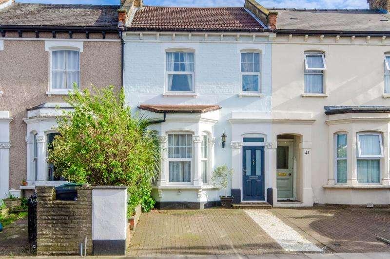 3 Bedrooms Terraced House for sale in Malvern Road, N8