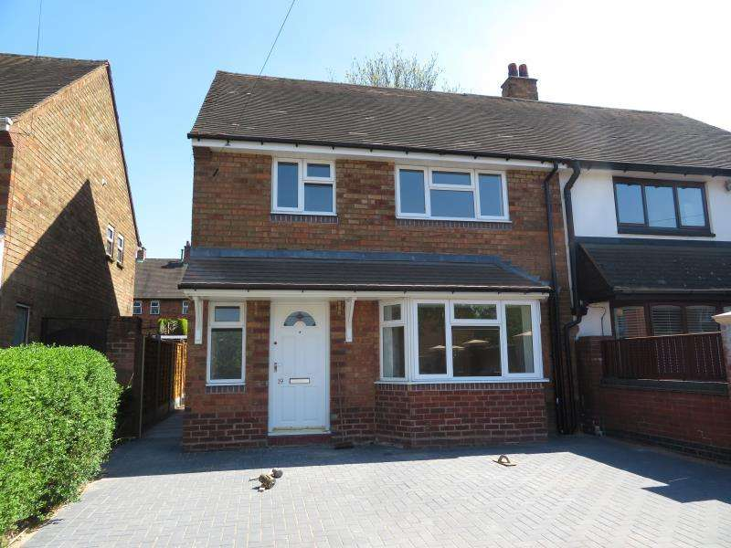 3 Bedrooms Semi Detached House for rent in Buildwas Close, Walsall, WS3 2SG