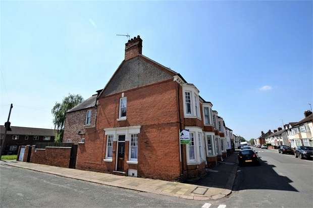 4 Bedrooms End Of Terrace House for sale in King Edward Road, NORTHAMPTON