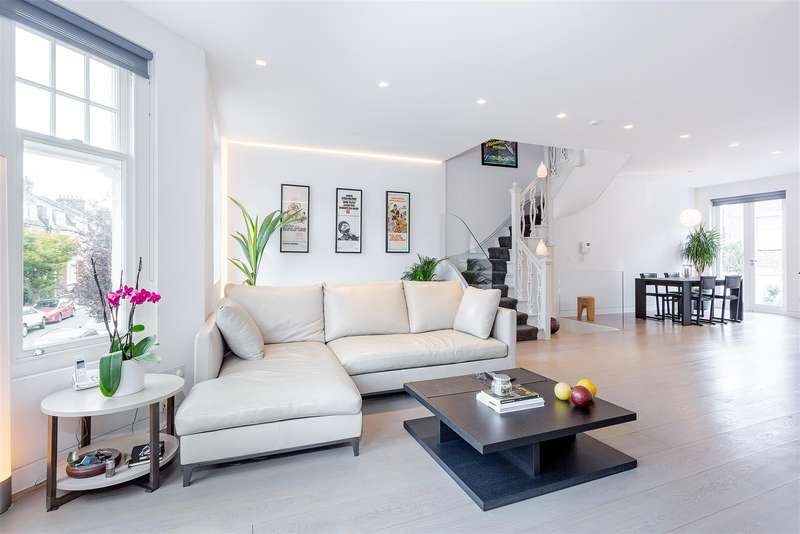 3 Bedrooms Flat for sale in Howitt Road, Belsize Park, NW3