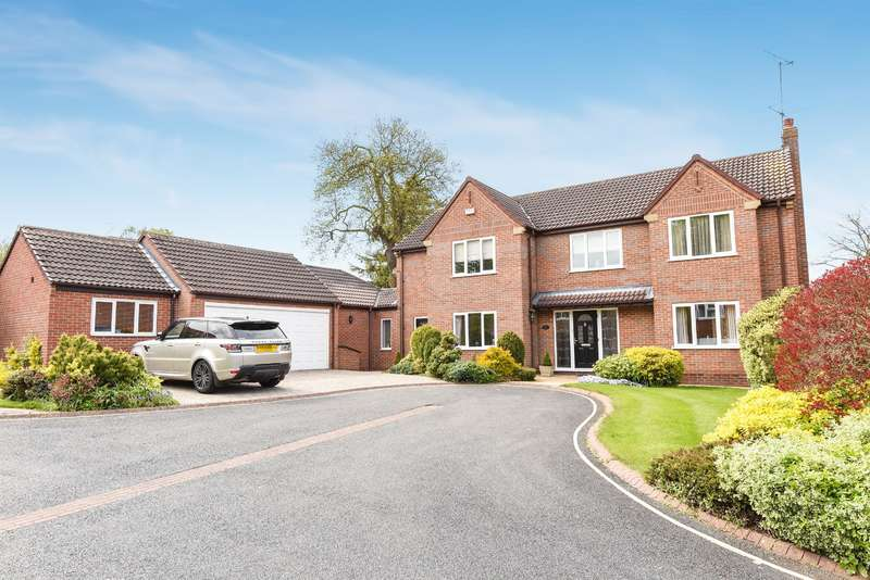 5 Bedrooms Detached House for sale in Finch Park, Beverley, HU17 7DW