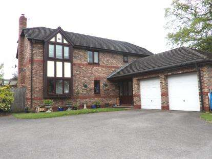 4 Bedrooms Detached House for sale in Foxes Walk, Higher Kinnerton, Chester, Flintshire, CH4