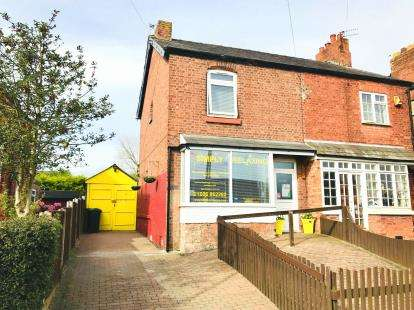 2 Bedrooms Semi Detached House for sale in Chester Road, Winsford, Cheshire