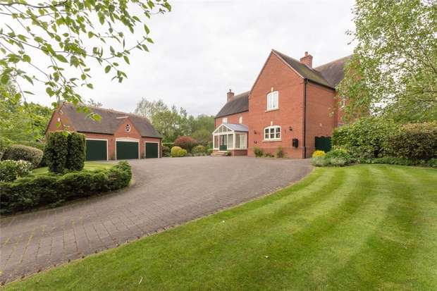 5 Bedrooms Detached House for sale in Weaverlake Drive, Yoxall, Burton upon Trent, Staffordshire